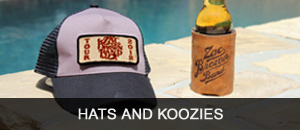 Zac Brown Band Hats and Koozies